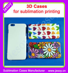 JESOY 3D sublimation case for iphone 6, Heat Press 3D Cases, For iphone 6 plus Sublimation Case