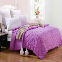alibaba selling air-condition summer queen size super soft velboa for quilt cover and bed sheet aplic work cotton sateen