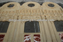 Marble Arch Door Frame with Figure Design