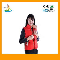 7.4V voltage heated vest far infrared/far infrared heating vest
