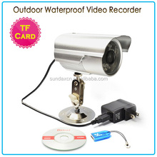 Outdoor Waterproof Security Camera with Sim Card / TF Card Security CCTV Camera / Infrared Digital Video Recorder