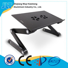 Fashion model best laptop table for sale with mouse holder and cooler