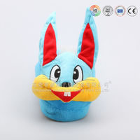 wholesale any style animal style plush duck slippers