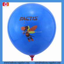 Promotional custom printed balloons assorted little bees round shape latex balloons