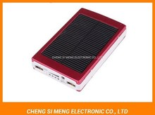 2015 New product mobile solar power bank 5600mAh Portable power pack