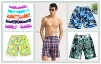 <OEM Service> 2014 wholesale holiday mens beach swimwear , sun protecting surfing board swim shorts for men