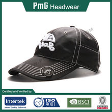 Golf Cap with build in tee holder and iron plate for magnetic ball marker, dri fit material