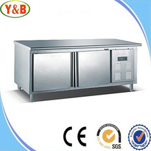 High quality stainless steel commercial refrigerator deep freezer