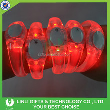 Supplies Custom LED Flashing Rainbow Bracelet Wholesale For Event & Party