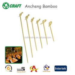 AC--145 Knotted Bamboo Food/Fruit picks
