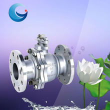 SS/WCB Manual Flange Ball Valve