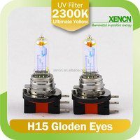 H15 12V 15/55W 2300K Super Yellow Germany Quality eye projector headlight
