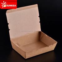 Food grade paper board food packaging boxes