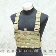 custom camouflage military tactical chest clip vests