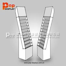 pos merchandise gift card floor display rack