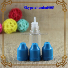 Mass inventory,24-48hours ship out!!! eliquid 10ml pet soft plastic squeeze bottle with childproof dropper&long thin tip