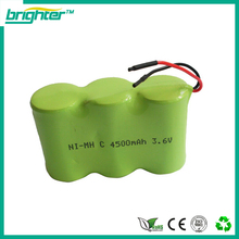 SGS CE ISO complied manufacturer c size nimh 3.6 volt battery