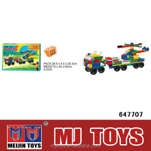 wholesale new products 2014 plastic building block truck
