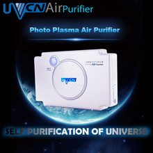 UV germicidal lamp mini air purifier ionizer