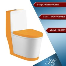 Hs-8889 Foshan fábrica de cerámica alargada muebles inodoro