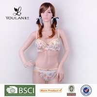 Top Quality Sweet Young Women Lace Trim Tanga For Female