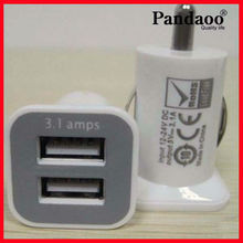 mobile phone 5v 3.1a usb car dual charger