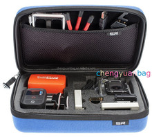waterproof Eva video camera bag/case/kit fit go pro cameras