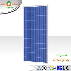 Sunshine 270w Poly Solar PV Panel for Off-grid/Grid-tied Roof-top/Solar Plant/Station/Domestic Solar Power System