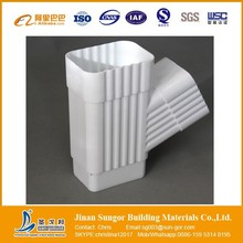 New Building Material 2015 PVC Rain Gutter Fitting Low Price