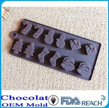 MFG Various shape silicone chocolate molds ceramic bakeware with lid