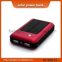 2015 Shenzhen factory Customized solar power bank Logo for solar power bank for smartphone