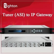 FTA Satellite Receiver to SPTS IP Gateway;DVB to IP Gateway