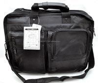 WANCHER Multi-Fuction Fit A4 Size Stylish Business Bag Black Color
