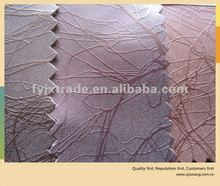 Semi pu pvc leather with high quality for furniture sofa carseat chair