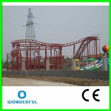 competitive price theme park amusement ride mini roller coaster for sale