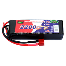 EP Power RC Model Toy Lipo Battery 11.1V 2200Mah 30C 45C w/ XT60 Plug for Align TREX 450 Helicopter RC Airplane Car