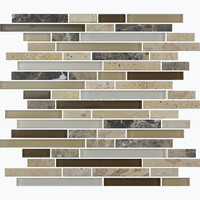 MBW4025 American Hot Sale Bliss Glass and Stone Mosaic for Kitchen Backsplash