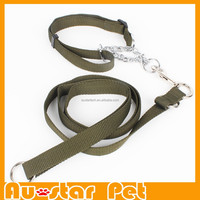 Wholesale Strong Leads for Large Medium Dogs Including Collar Pet Products Nylon Rope Dog Leashes