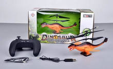 Funny RC Helicopter For Sale 3.5CH Infrared Remote Control Dinosaurs Toys Wings With Lights BT-014703