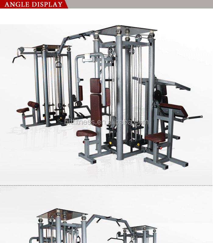 2080 commercial multi station gym,8 multifunction gym,sports equipment