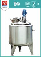 2015 nueva líquidos vertical viscosa con aislamiento de acero inoxidable sellado tanques de mezclado farmacéuticos recipientes a
