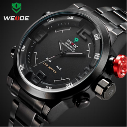 2015 Simple design gent metal led weide watch gift man watch