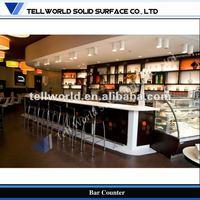 TW stylish bar counter design Modern breakfast bar Counter
