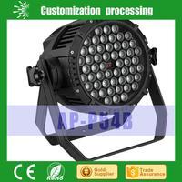 IP65 RGBW 54x3w waterproof led par 64 /white led stage lighting