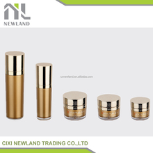 2015 new imperial crown shape noble jar,50g fashion packaging cosmetic,30g airless glass cosmetic bottle