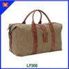 Heavy 20A Canvas with Top Grained Leather sports travel bag men