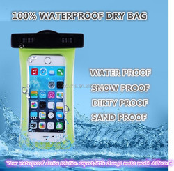 new coming 3D waterproof dry bag for iphone 6 case