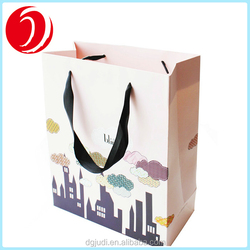 ISO Certified Cheap Shopping Kraft Paper Bag With Handle