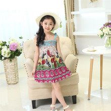 Lovely fancy baby clothes online shopping top quality kids evening dress for girls
