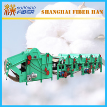 Recycling machine, used waste textile recycling machine